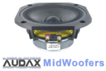 Audax MidWoofers category Button