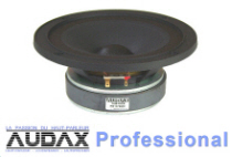 Audax Professional Drive Units Category Button