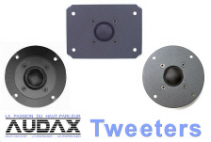 Audax Tweeters Category Button