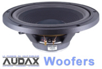 Audax Woofers Category Button