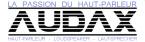 Audax loudspeakers