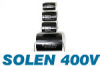 Solen 400V Button