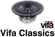 Vifa Speakers, Free UK Delivery, full Drive Unit range