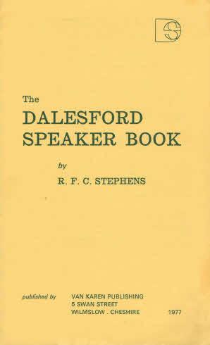 Dalesford Speaker Book