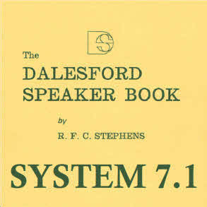 Dalesford Speaker Book System 7 Part 1