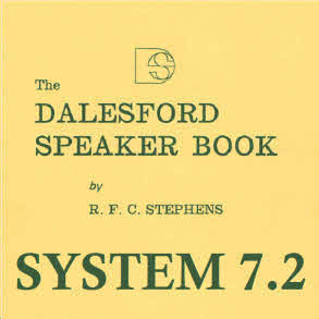 Dalesford Speaker Book System 7 Part 2