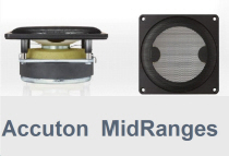 Accuton MidRanges