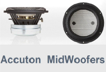 Accuton MidWoofers