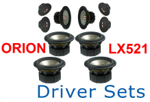 Linkwitz Orion Driver Sets