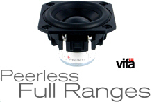 Peerless Full Ranges