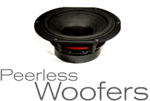 Peerless by Tymphany Speakers, Free UK Delivery, full Drive Unit
