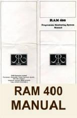 RAM 400 Manual Button
