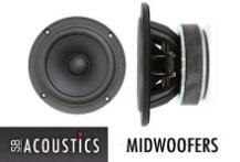 SB Acoustics MidWoofers