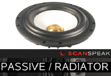 Scanspeak Speakers Passives & Radiators