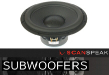 Scanspeak Speakers SubWoofers