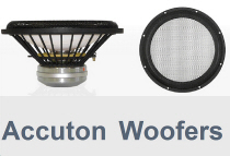 Accuton Woofers