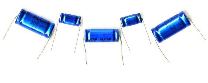 Alcap Capacitors Standard 50V
