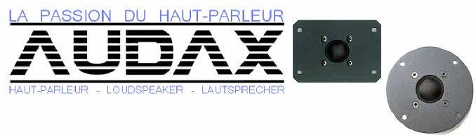 Audax Drive Units Loudspeakers