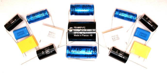 Alcap ClarityCap Solen Capacitors