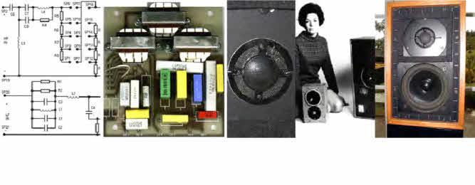 BBC LS3/5a Parts & Drive Units