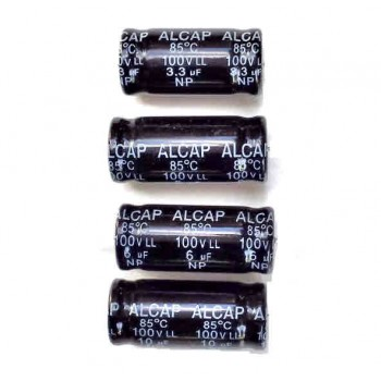 Low Loss 100V capacitors
