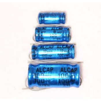 Alcap 80.00uF High Power 100VDC Electrolytic Capacitor