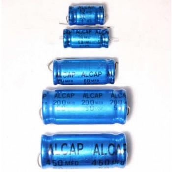 Alcap 80.00uF 50VDC Electrolytic Capacitor