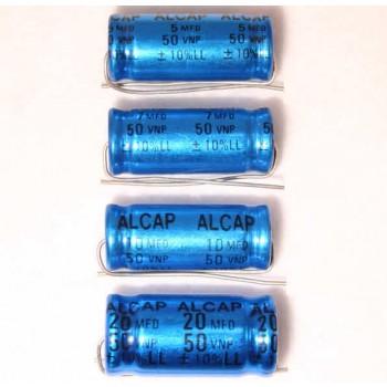 Alcap 7.50uF Low Loss 50VDC Electrolytic Capacitor