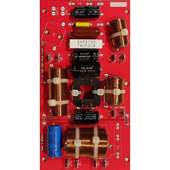 CROSSOVER No.33Mc Mk2. KEF CONCERTO R40 FALCON ACOUSTICS MF & HF UPGRADE SUPER POWER VERSION