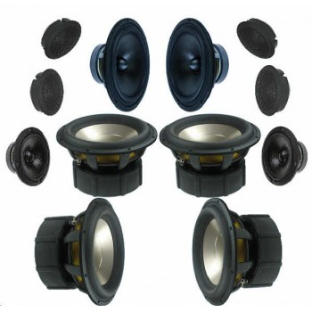 LINKWITZ LX521 Speaker Kit. Drive Units. Extra 10% Full Kit Discount