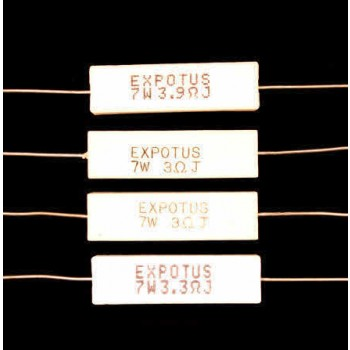 Ceramic Wire Wound Resistors 7W