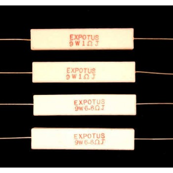 Ceramic Wire Wound Resistors 9W
