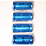 Alcap 1.50uF Low Loss 50VDC Electrolytic Capacitor