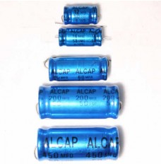 Alcap 25.00uF 50V DC Electrolytic Capacitor