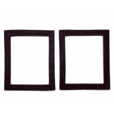 LS3/5a T27 TWEETER FELT SQUARES. SELF-ADHESIVE. PAIRS. ORIGINAL BBC SPECIFICATION.