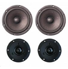 SB Acoustics Satori MW16P-4/TW29R BLACK Driver sets (2 prs) SPECIAL OFFER
