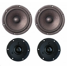 SB Acoustics Satori MW16P-8/TW29R BLACK Driver sets (2 prs) SPECIAL OFFER