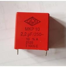 WIMA MKP10 2.20uF (2.2µF) 250V