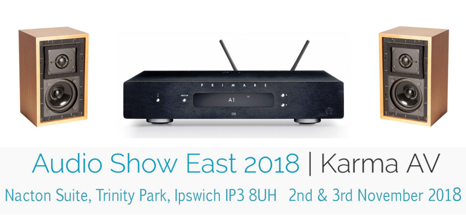 FALCON LS3/5a, 5* R.A.M. ST30 AT AUDIO SHOW EAST 2-3 NOVEMBER