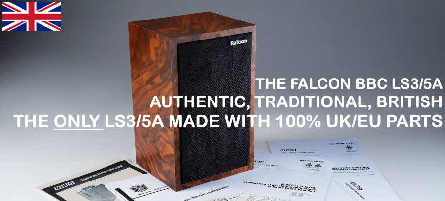FALCON LOUDSPEAKERS HIFI NEWS BEST OF 2019  FALCON LS3/5A