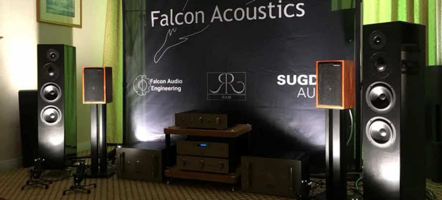 FALCON AND SUGDEN AT BRISTOL SOUND & VISION 2018