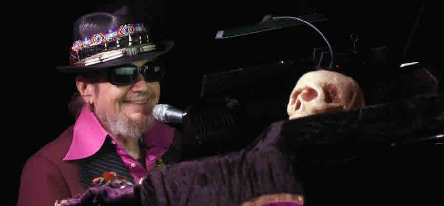 DR. JOHN 1941 2019 R.I.P IN THE RIGHT PLACE AT THE WRONG TIME