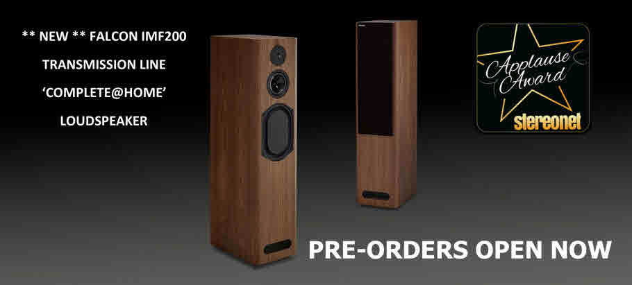 NEW FALCON ACOUSTICS IMF200 RELEASE AUGUST 2021