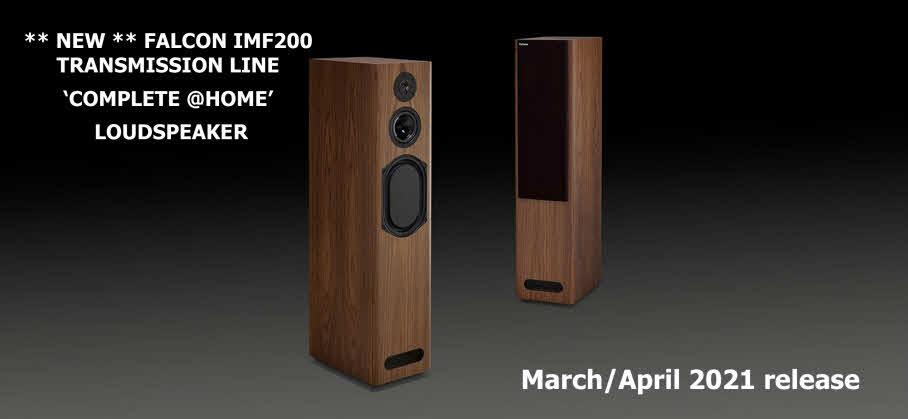 NEW FALCON ACOUSTICS IMF200 Release March-April 2021
