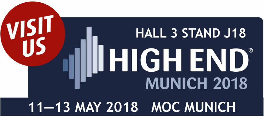 MUNICH HIGH END HALL 3 STAND J18