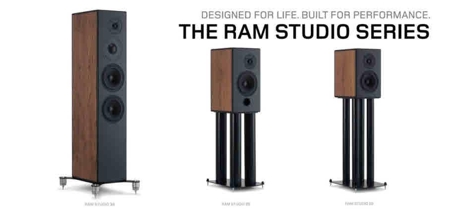 RAM LOUDSPEAKERS STUDIO RANGE FACEBOOK PAGE