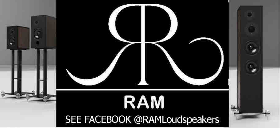 RAM LOUDSPEAKERS STUDIO RANGE LAUNCHED