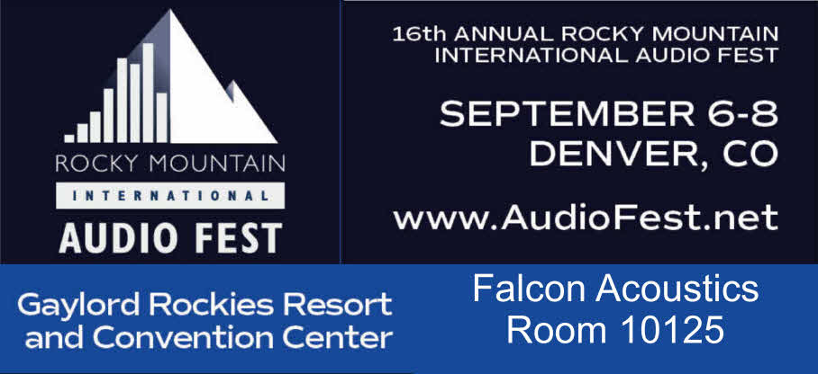 COME AND SEE FALCON AT RMAF DENVER SEPTEMBER 6-8