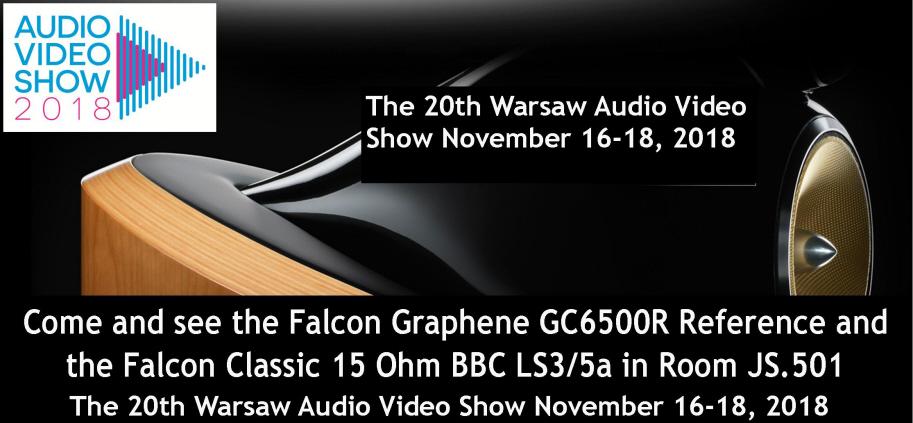 WARSAW AUDIO VIDEO SHOW ROOM JS 501 16-18 NOVEMBER