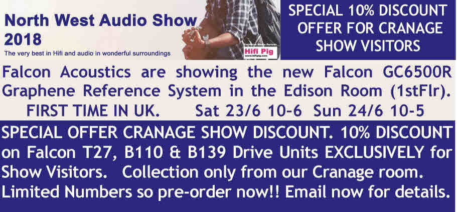 NORTH WEST AUDIO SHOW 10% DISCOUNT OFFER